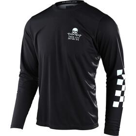 Troy Lee Designs Flowline LS Jersey Men service black
